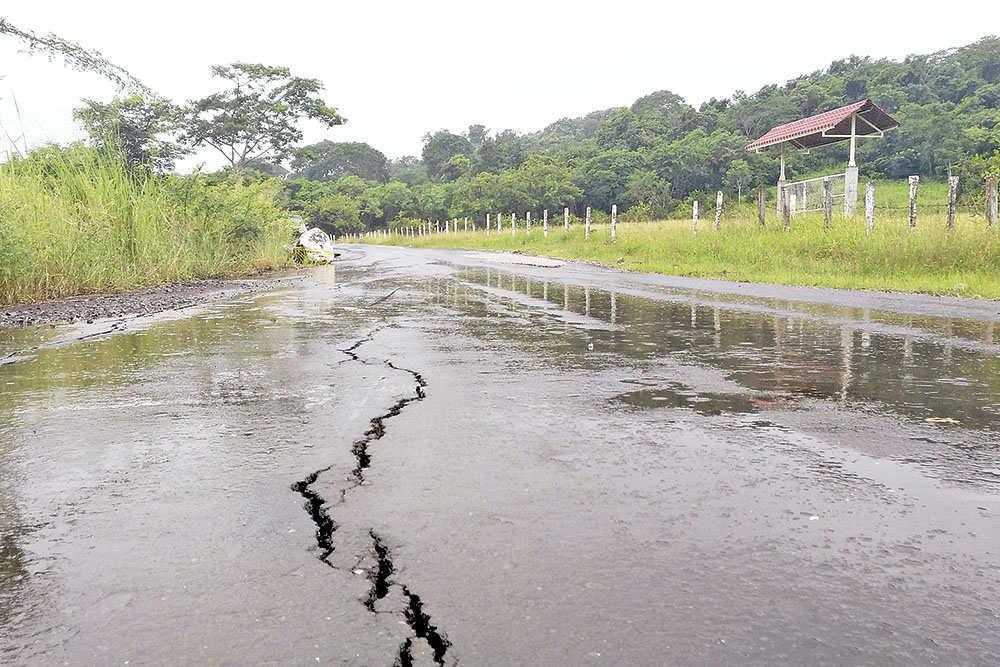 'Devora' Río Seco tramo carretero