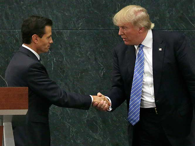 Espero una próxima reunión', dice Trump tras encuentro con Peña