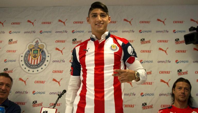 Pulido se ausenta de primer entrenamiento con Chivas