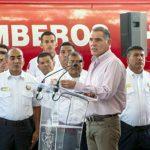 Inaugura Gabino Cué Tercer Subestación del Heroico Cuerpo de Bomberos
