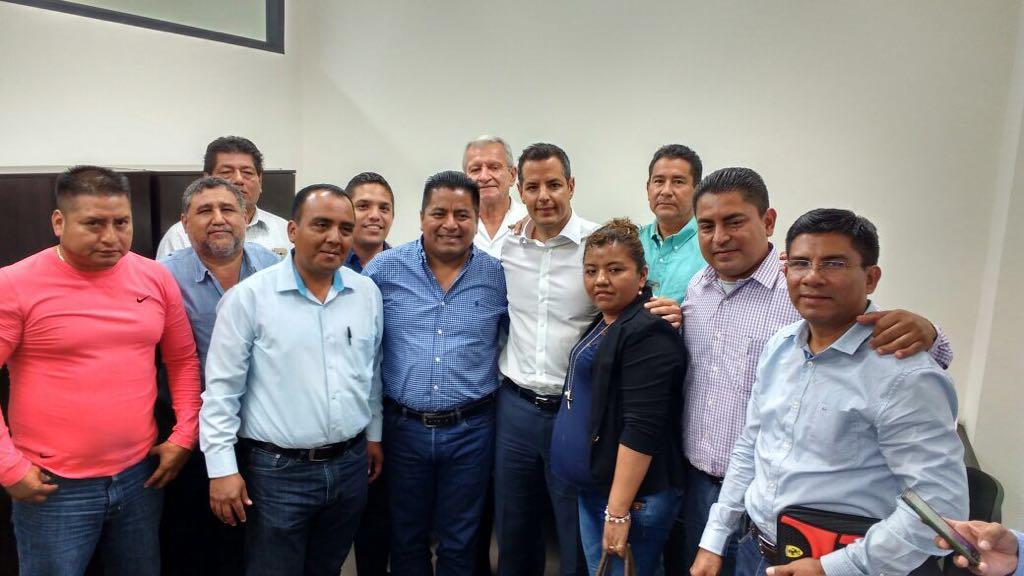 Se reúne Alianza de presidentes de la Cuenca del Papaloapan con gobernador electo de Oaxaca.