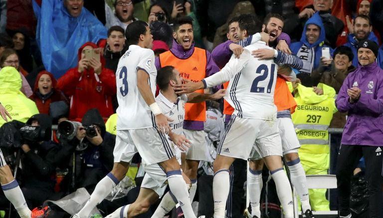 Real Madrid, líder absoluto gracias a gol de Morata