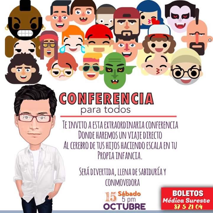 No faltes…Conferencia «Ser Padres desde el Corazón» con Russlan Méndez