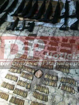Aqui en Tuxtepec…Localizan arsenal frente a la Secundaria José Vasconcelos