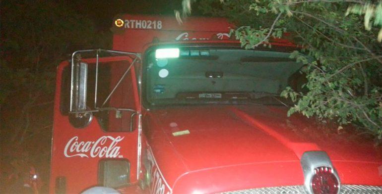 Recuperan camión repartidor robado en el Istmo