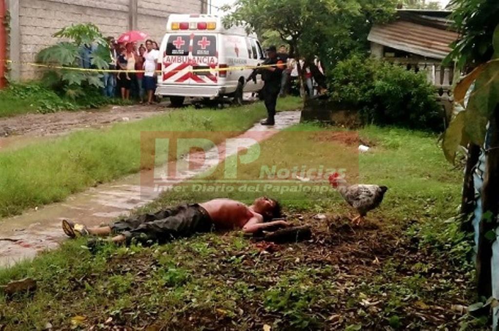 Otro ejecutado en Carlos A. Carrillo