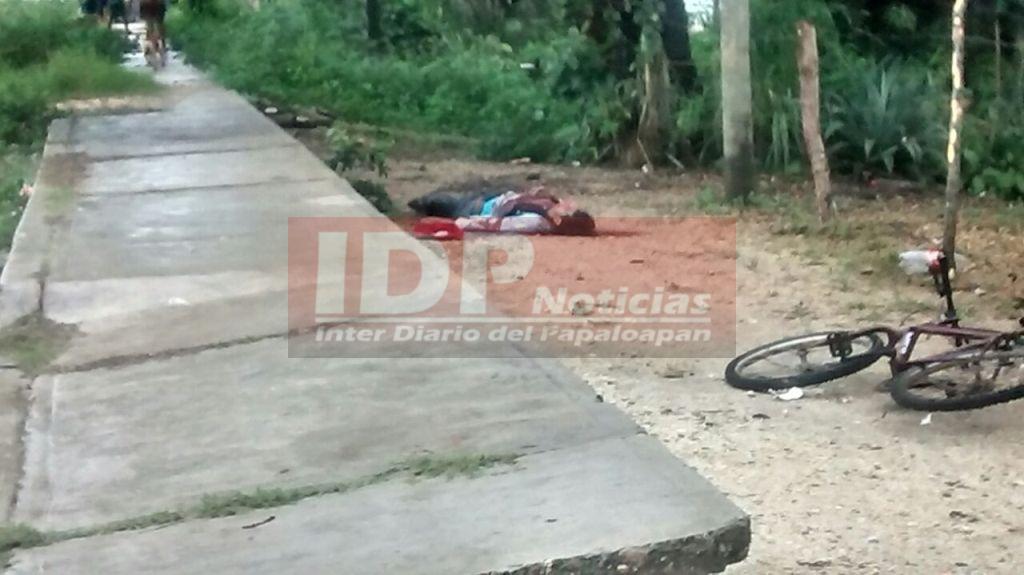 Asesinan a una persona en Loma Bonita