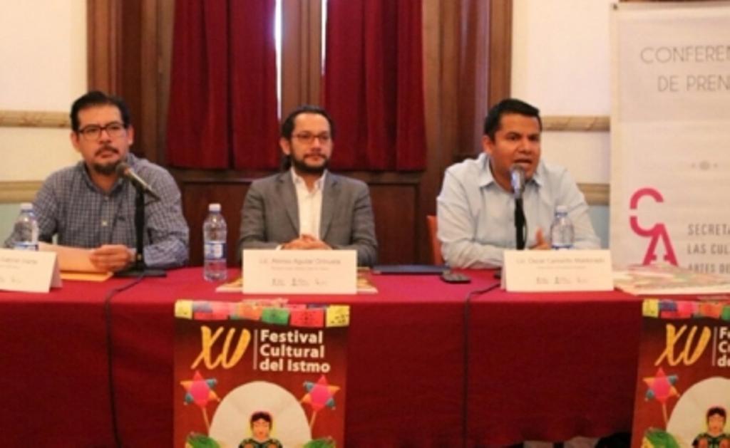 Invita la SECULTA al XV Festival Cultural del Istmo