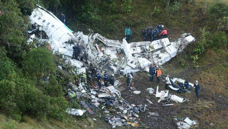 Chapecoense conmociona al mundo por accidente aéreo