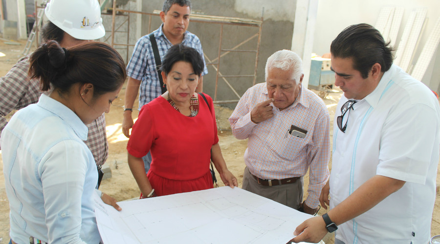 Estamos cumpliendo con hechos, las obras están a la vista: Rosa Nidia Villalobos