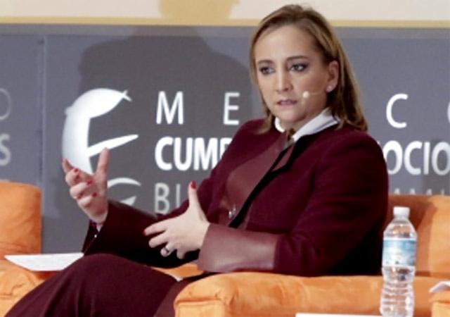 Frontera con EU es punto de encuentro y prosperidad: Claudia Ruiz Massieu