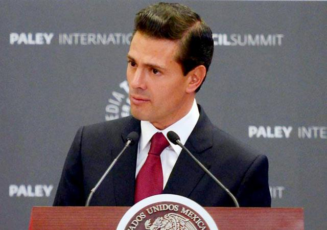 Destaca EPN relación comercial entre México y EU
