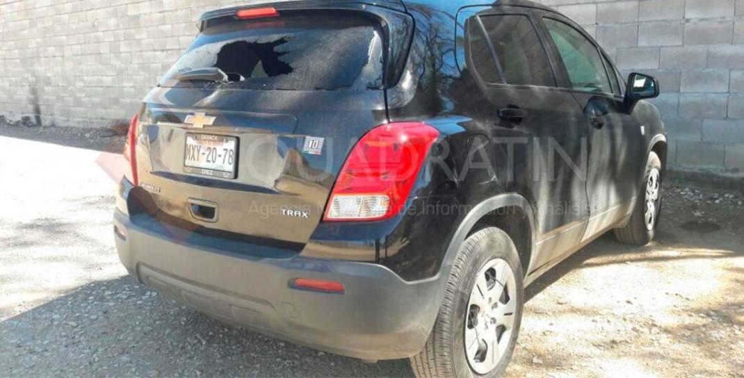 Deja 6 autos dañados enfrentamiento en Ciudad Administrativa
