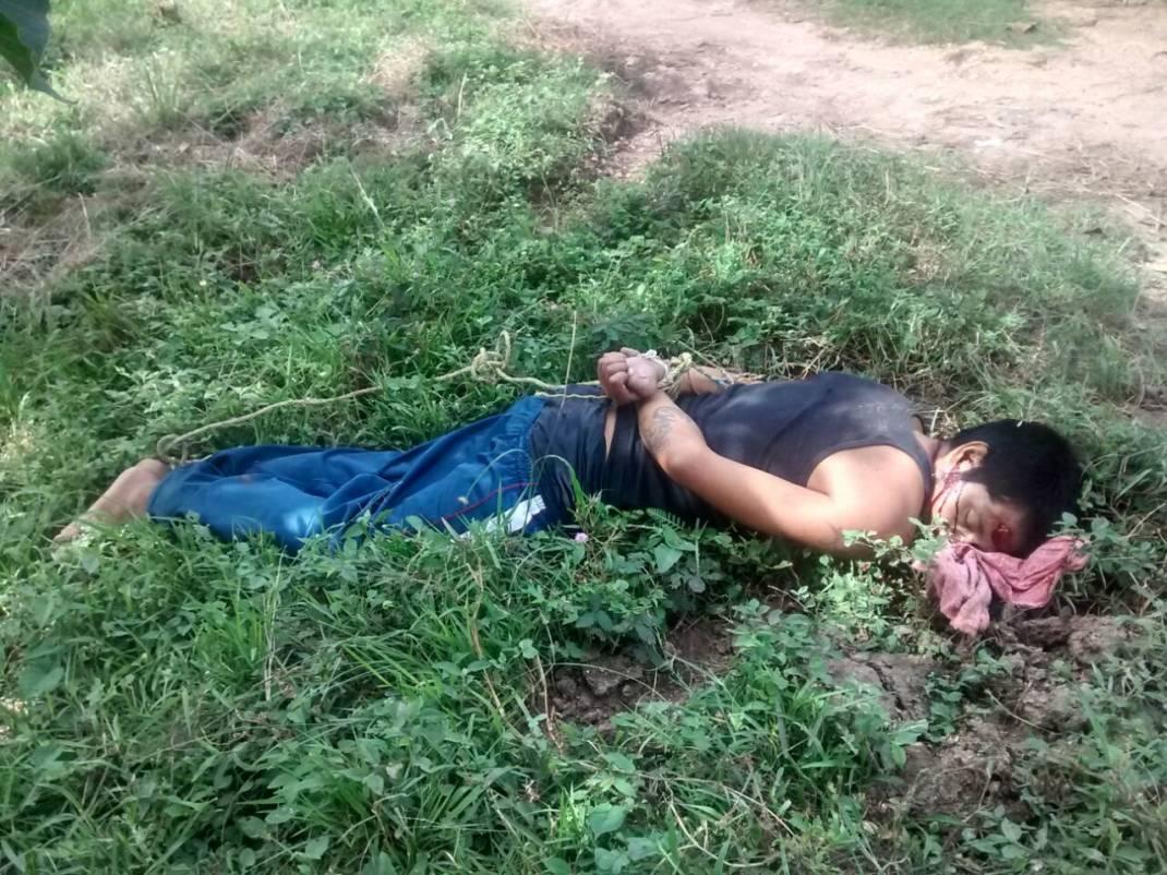 Localizan un ejecutado entre Loma Bonita y Tlacojalpan