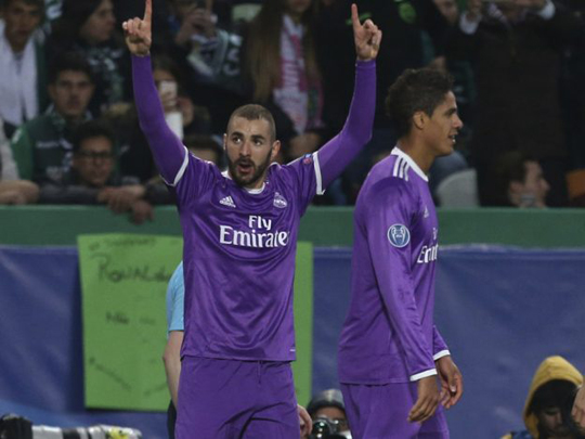REAL MADRID VENCE 2-1 AL SPORTING!