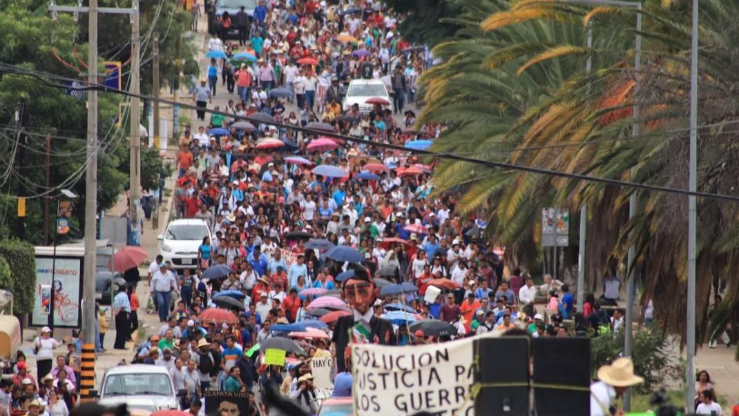 Sección 22 anuncia boicot a toma de protesta de Alejandro Murat