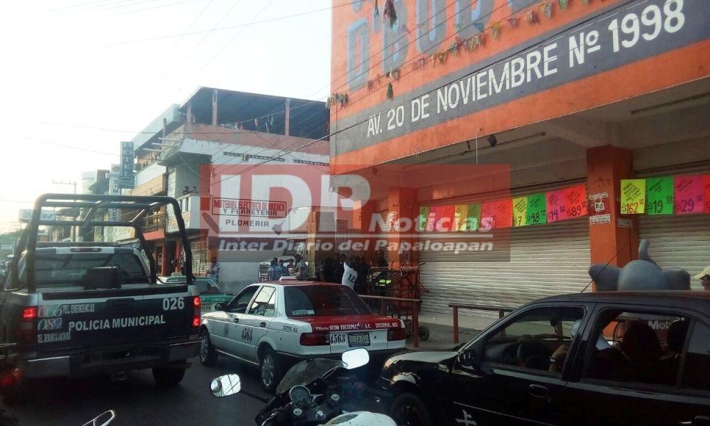 Supuesta balacera desata movilización de corporaciones policiacas en la Piragua