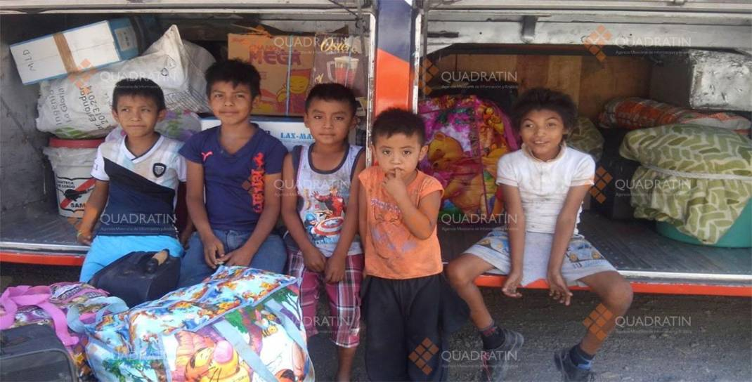 Niños jornaleros, la otra cara de la migración indígena en Xadani