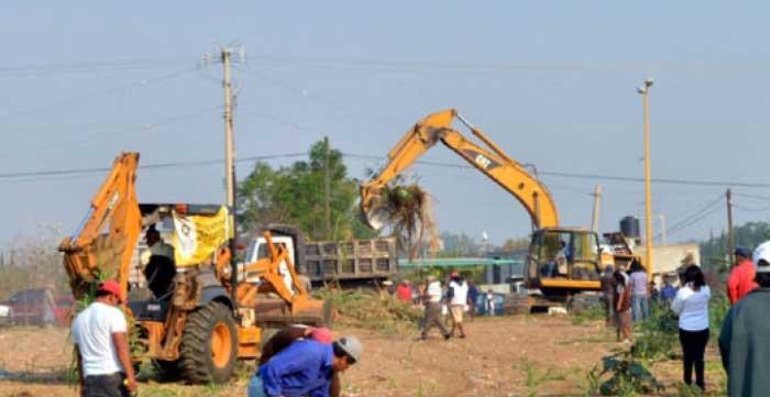 La maquinaria de Xoxocotlán es para atender a todas las colonias, señala el Ayuntamiento