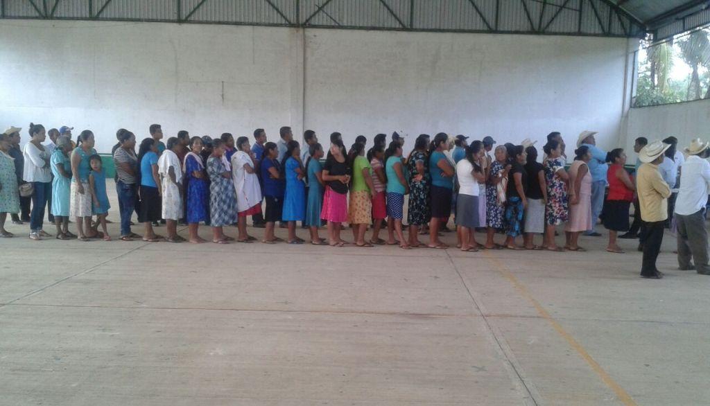 Calma total durante elecciones de usos normativos en Jocotepec