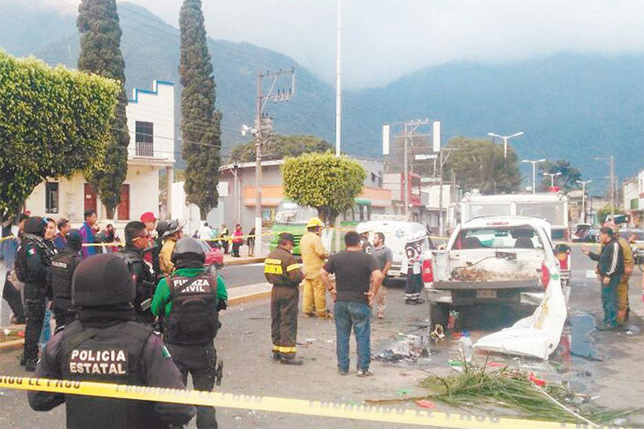 Explosión mata 2 niños