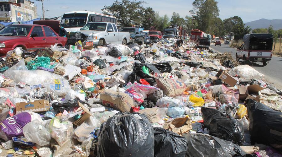 Aumenta la basura en la capital