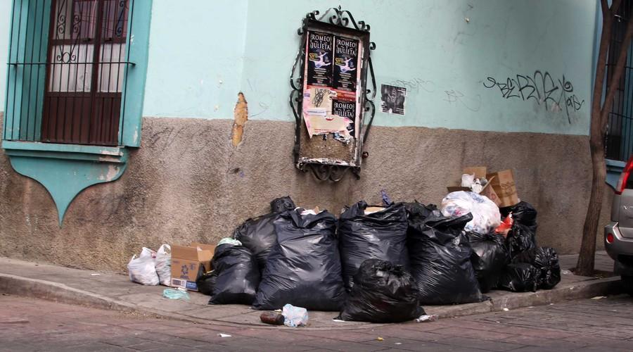 Suspenden recolección de basura en la capital
