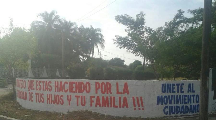 "Alcalde advierte ""Michoacanazo"" en San Francisco Ixhuatán"