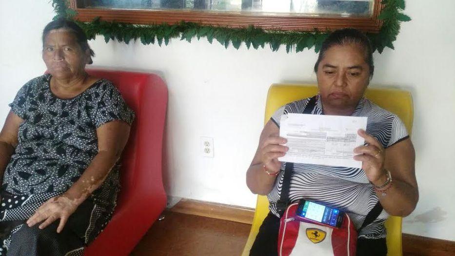 Estafan a familias con viviendas de Fonhapo