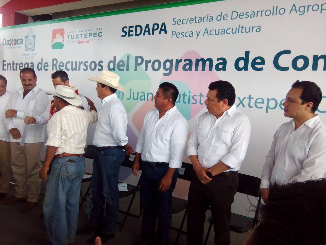 En SAGARPA hubo incremento en el presupuesto para Oaxaca