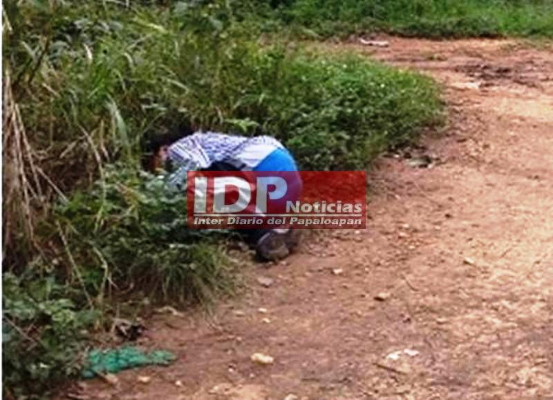 Localizan un ejecutado en Loma Bonita