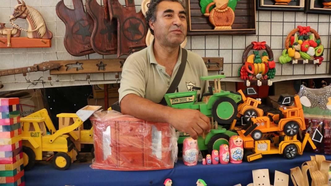 Poca participación de vendedores en la Feria Decembrina