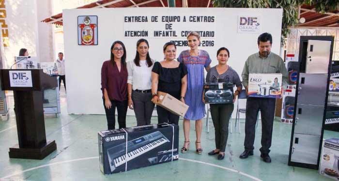 Gestiona Ivette Morán apoyos nacionales para equipar centros de atención y asistencia social