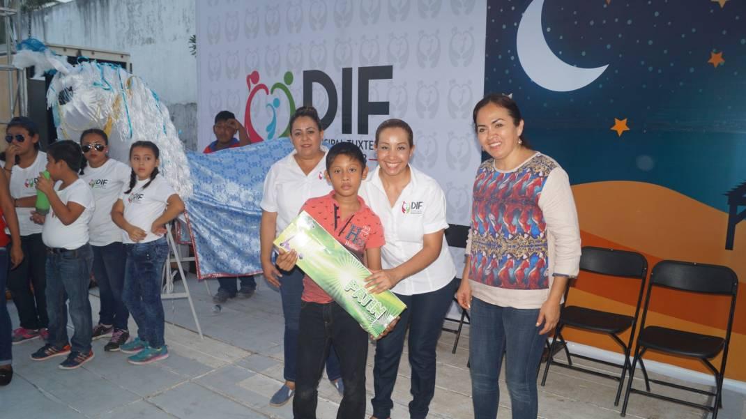 Un éxito Feria Mágica del DIF Tuxtepec