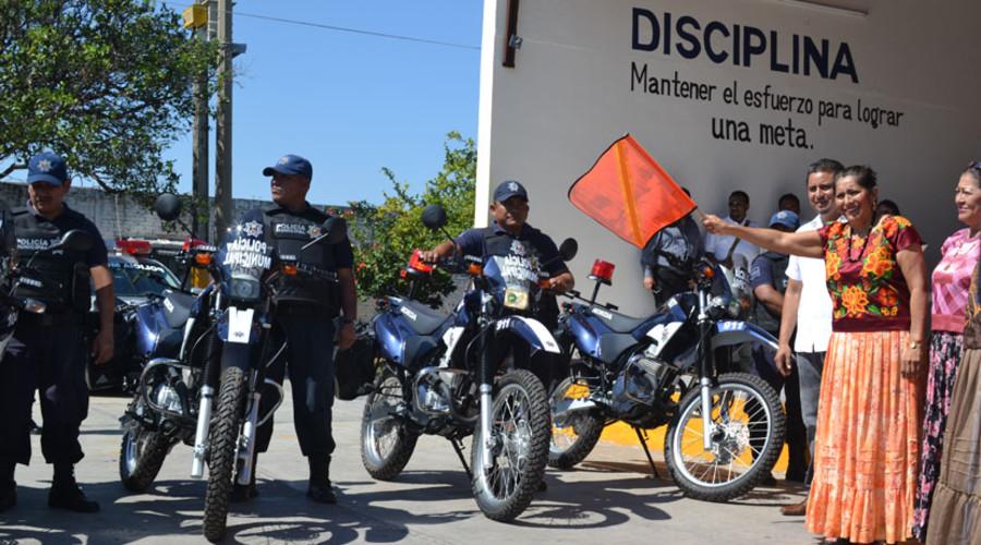 Refuerzan seguridad en Juchitán
