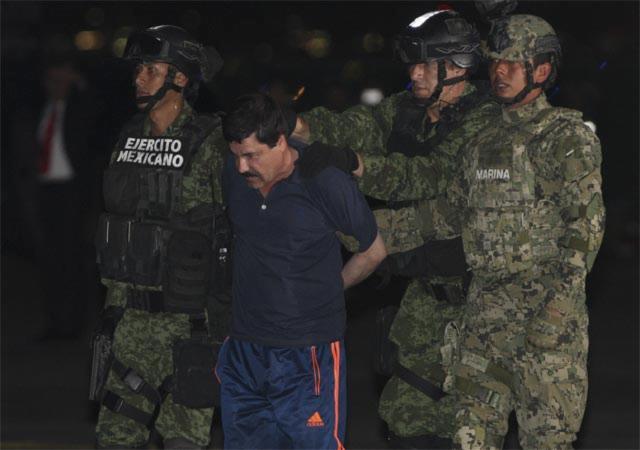 """Embajada de EU en México agradece por extradición del """"Chapo"""""""