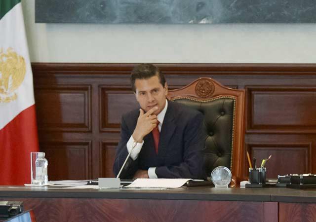 Peña Nieto dialoga con el presidente Donald Trump