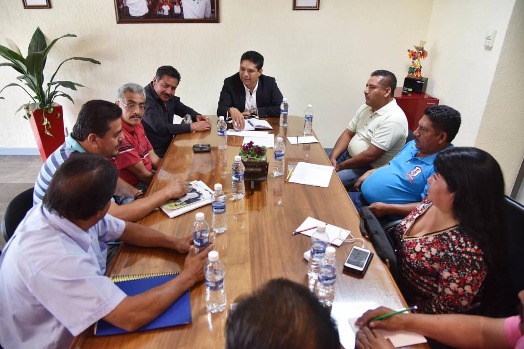 Gustavo Marín reafirma su compromiso con el transporte oaxaqueño