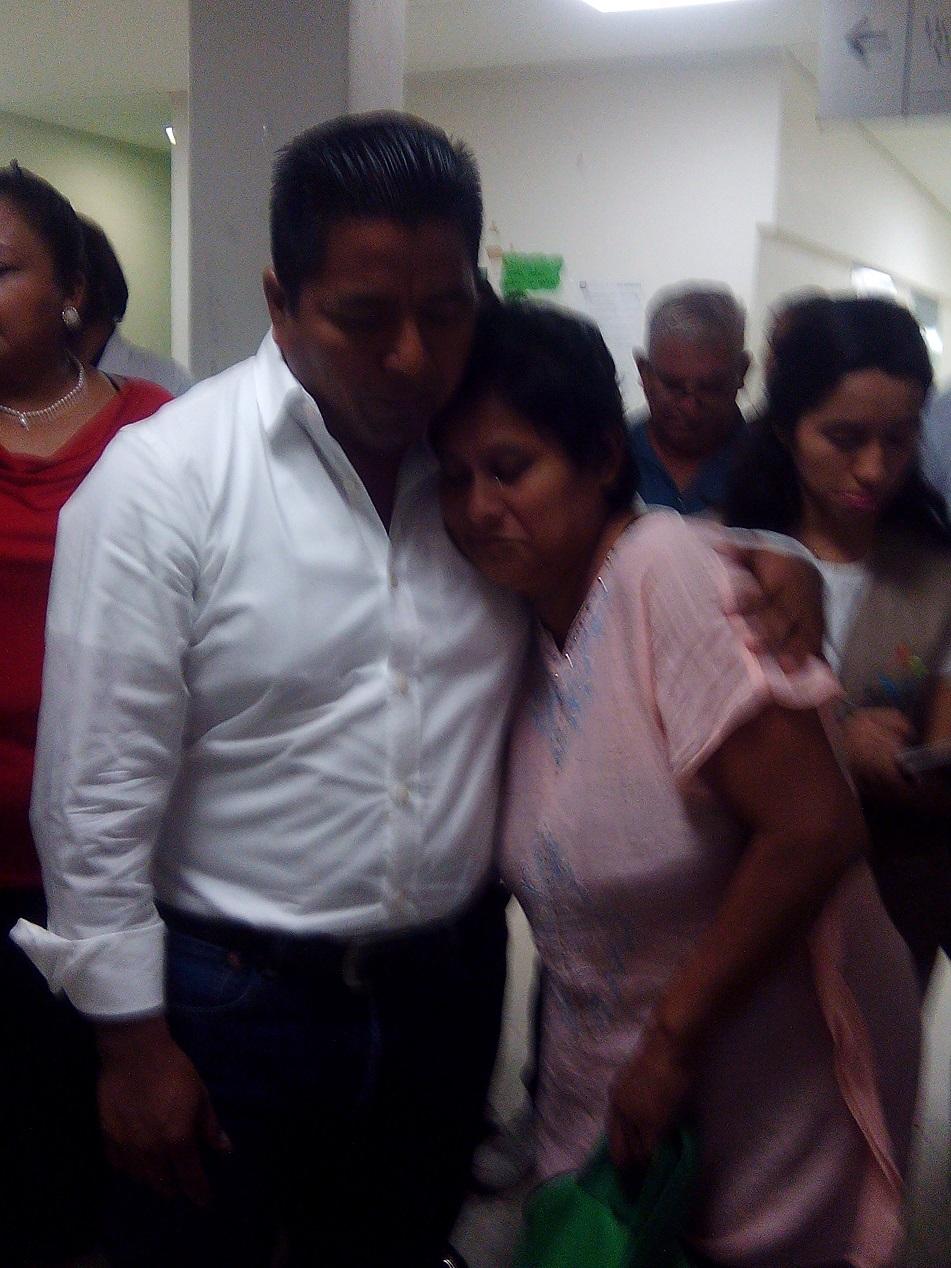 El presidente municipal de Tuxtepec apoyara al Hospital General
