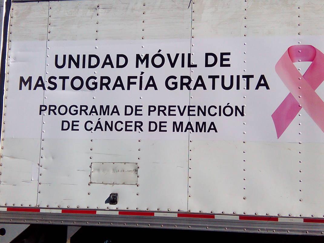 Llegan a Tuxtepec Unidades Móviles de Mastografías y Servicios por parte del Gobierno del Estado