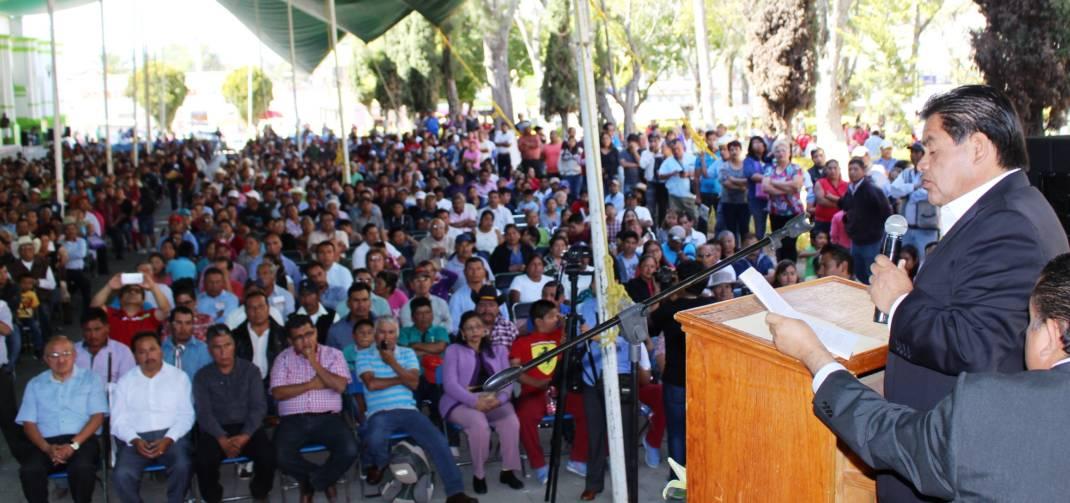 Llama Fabián Herrera Villagómez a la unidad y reconciliación en Nochixtlán