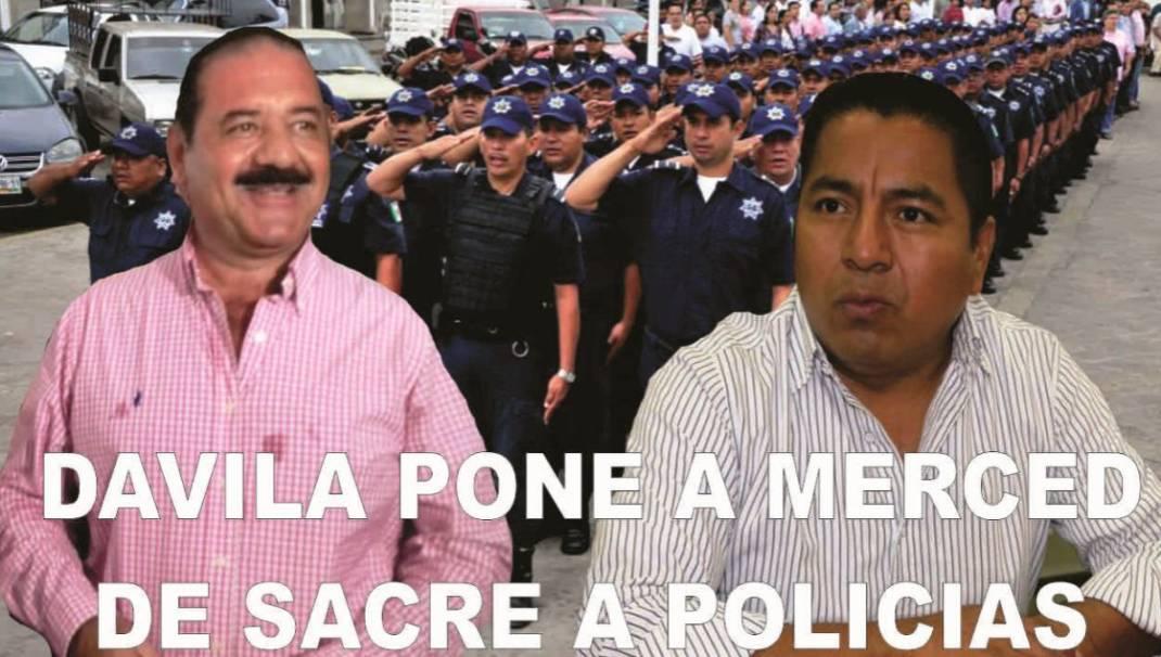 Fernando Dávila envía policías para cuidar al Gordo Sacre