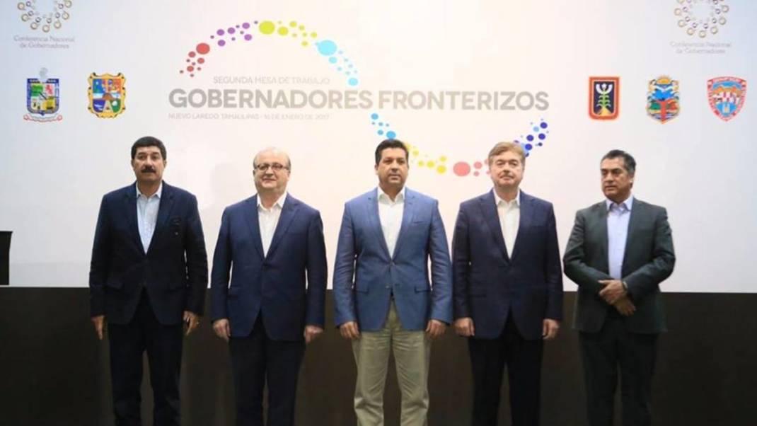 Gobernadores mexicanos crean un frente ante las amenazas de Donald Trump