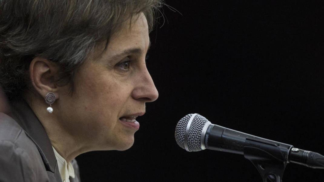"""""""¿De verdad creyeron que nos iban a callar?"""": la periodista mexicana Carmen Aristegui anuncia nuevo programa"""