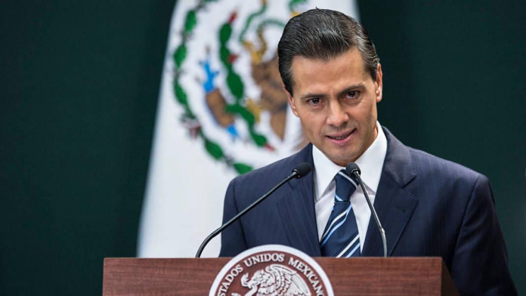 Peña Nieto cancela su visita a EEUU por el muro fronterizo de Trump