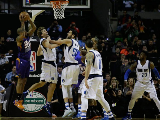 MAVERICKS DERROTA A SUNS!