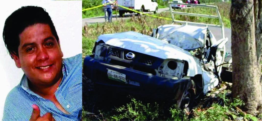 Fallece en trágico accidente hijo de ex regidor de Tuxtepec