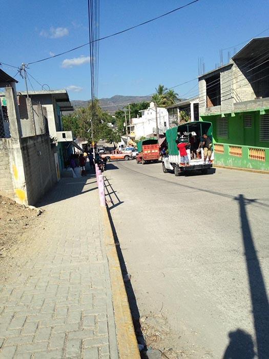 Un hombre herido en el Barrio del Zapote