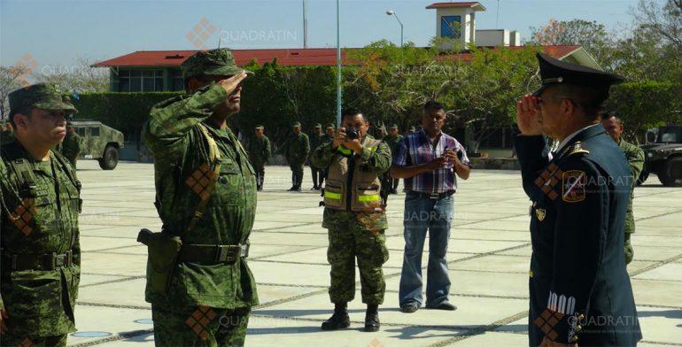 Designa Sedena a comandante del regimiento en Ixtepec