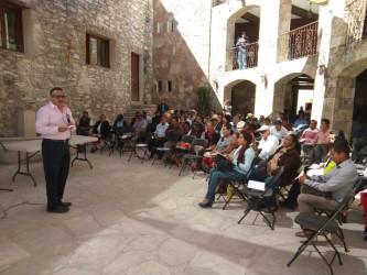 Impulsa Herminio Cuevas capacitación  de autoridades municipales